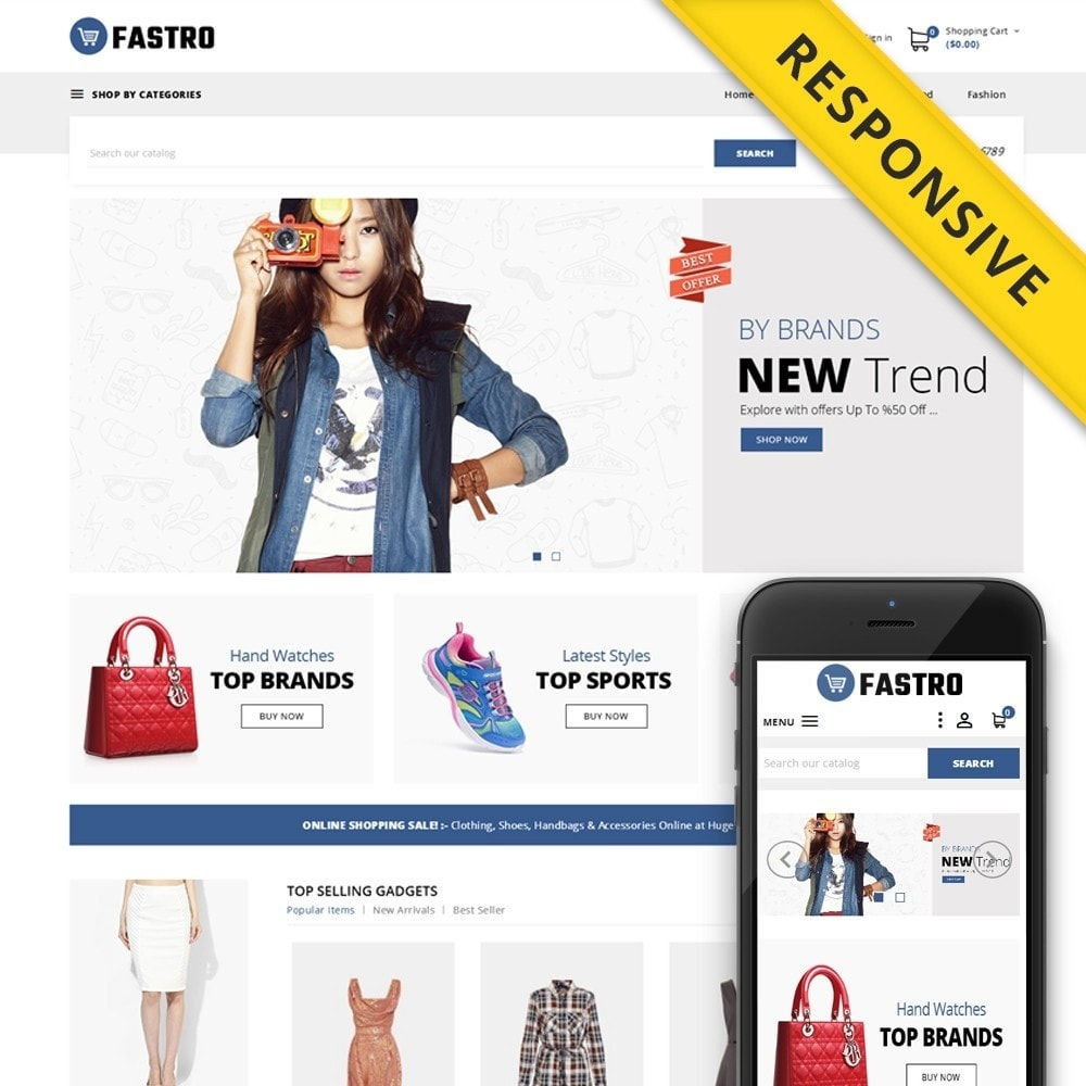 theme - Moda & Calzature - Fastro - Apparel Store - 1