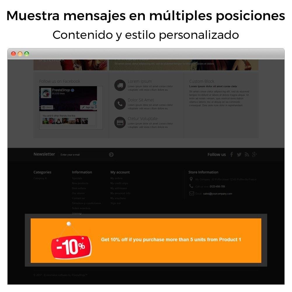 module - Promociones y Regalos - Promociones y descuentos - (3x2, descuentos, ofertas) - 13