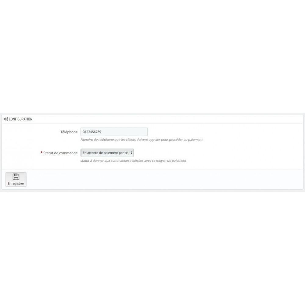 module - Autres moyens de paiement - Payer par téléphone - 3