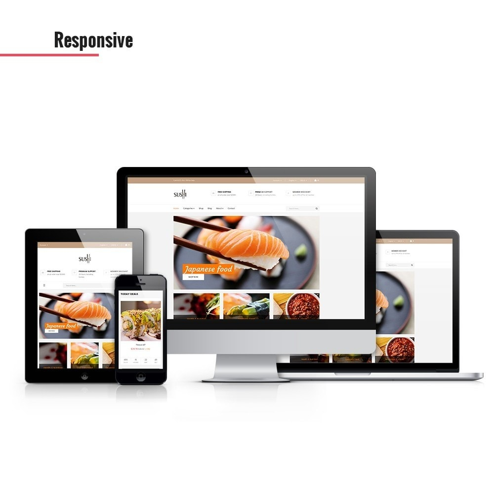 theme - Lebensmittel & Restaurants - Leo I-sushi - 1