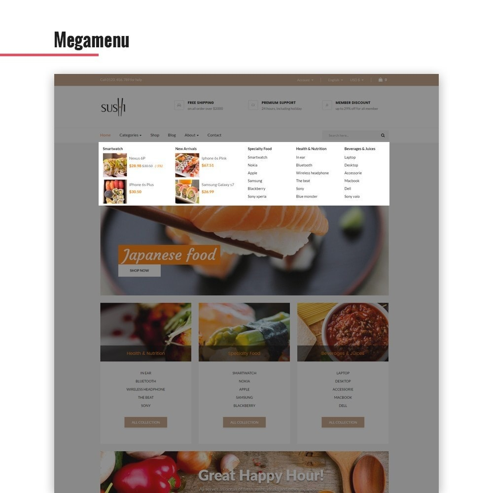 theme - Lebensmittel & Restaurants - Leo I-sushi - 4