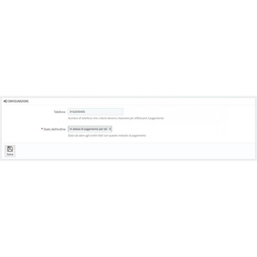 module - Altri Metodi di Pagamento - Paga da Telefono - 2