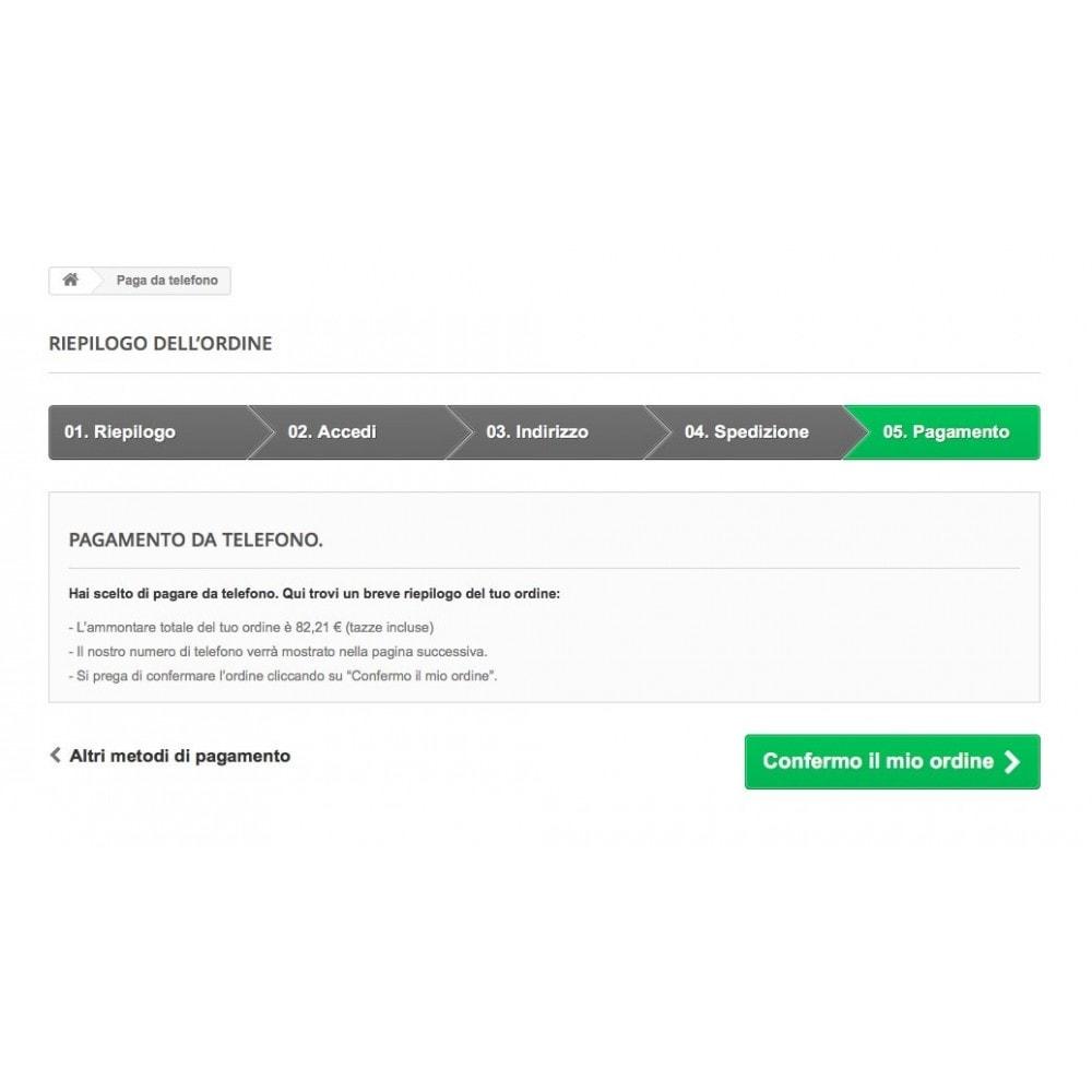 module - Altri Metodi di Pagamento - Paga da Telefono - 4