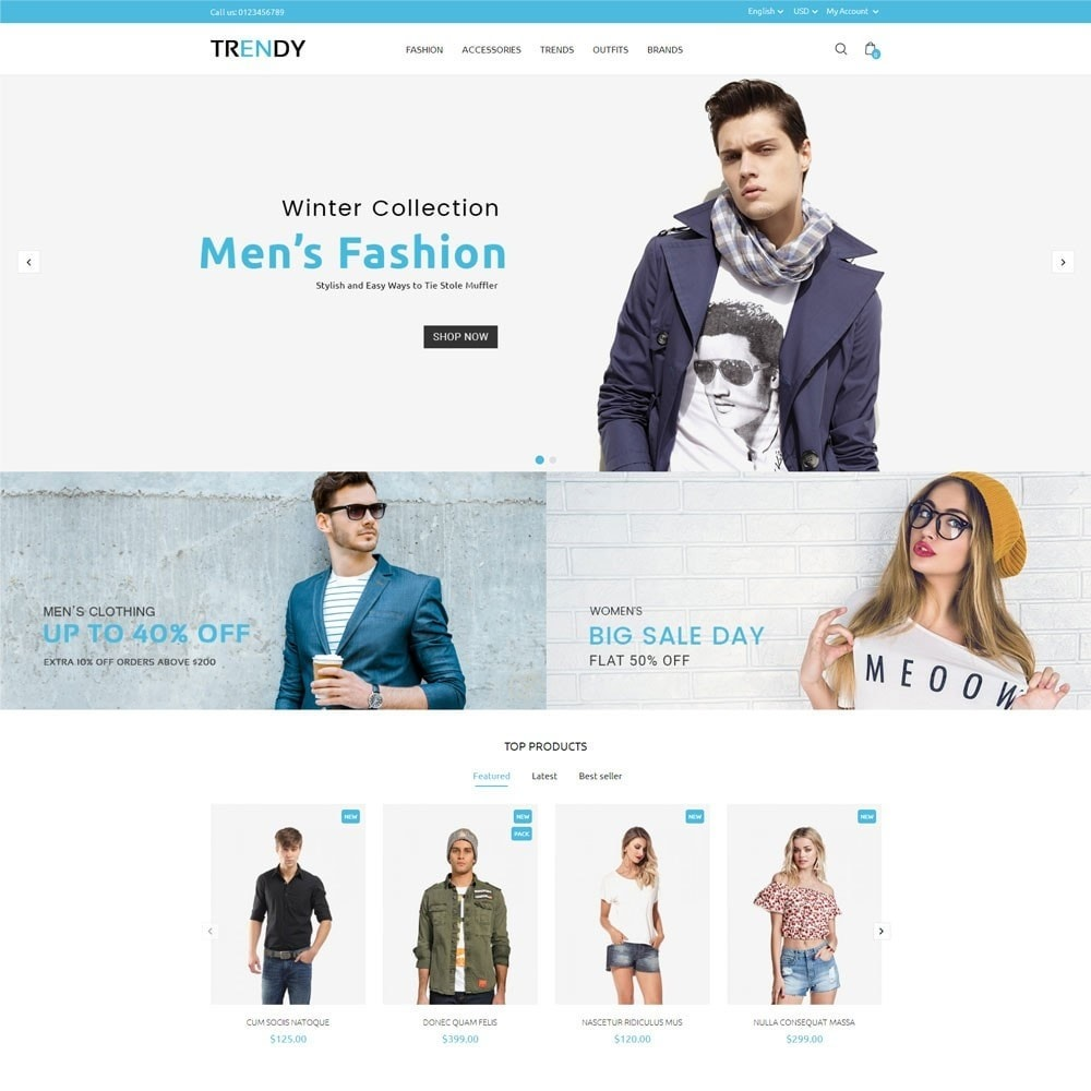 theme - Мода и обувь - Trendy Fashion Store - 2