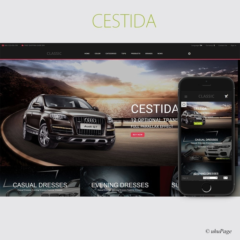 theme - Automotive & Cars - Cestida Cars Store - 1