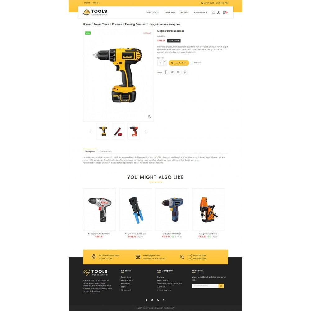 theme - Дом и сад - Construction Tools Store - 5