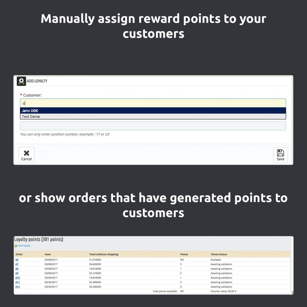 module - Lojalność & Rekomendowanie - Advanced Loyalty Program: Loyalty Points - 7