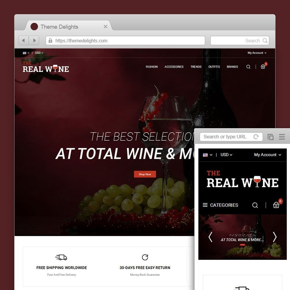 theme - Bebidas & Tabaco - The Real Wine Store - 1