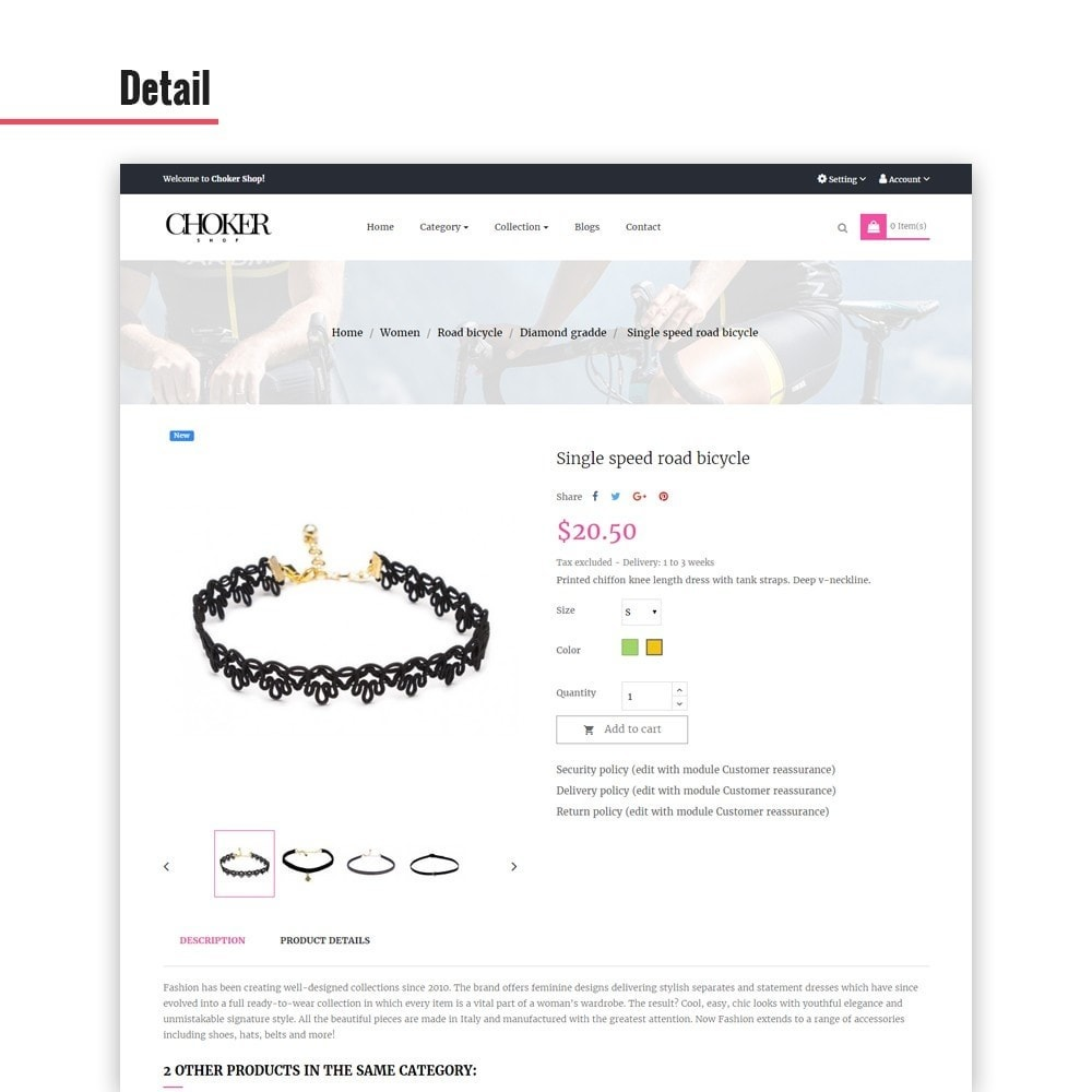 theme - Jewelry & Accessories - Leo Choker - 3