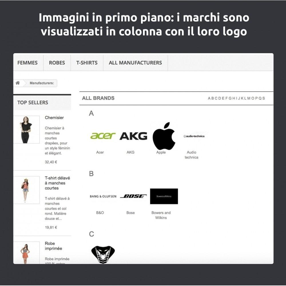module - Marche & Produttori - Cambia e migliora della pagina produttore/marchio - 6