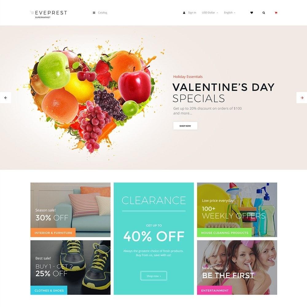 theme - Żywność & Restauracje - EvePrest Supermarket - Supermarket Online Store - 1