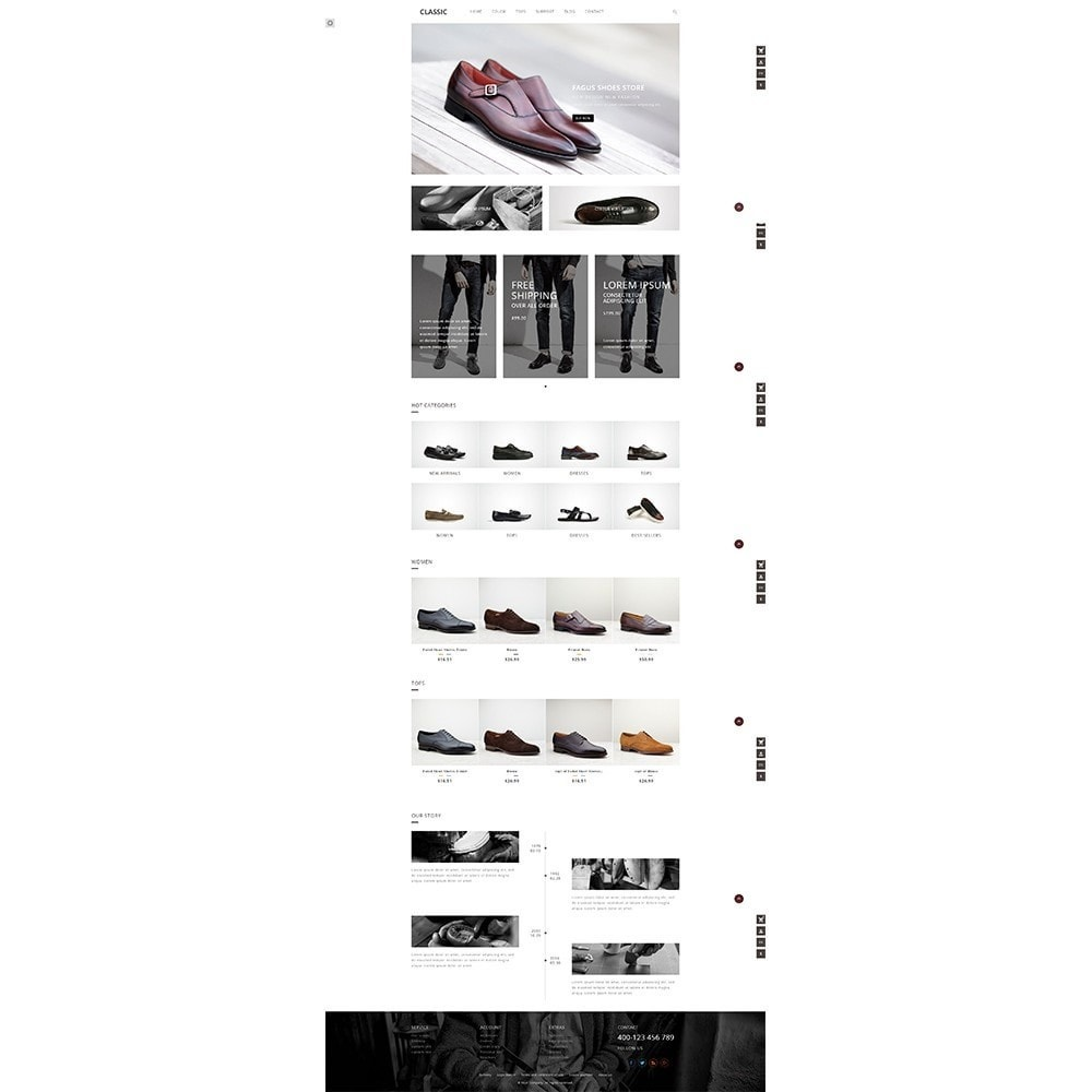 theme - Mode & Chaussures - UP Fagus Shoes Store - 3