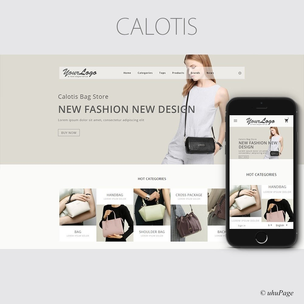 theme - Fashion & Shoes - Calotis Bag Store - 1