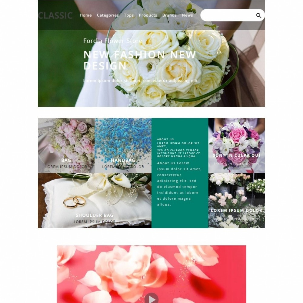theme - Gifts, Flowers & Celebrations - Fordia Flower Store - 4