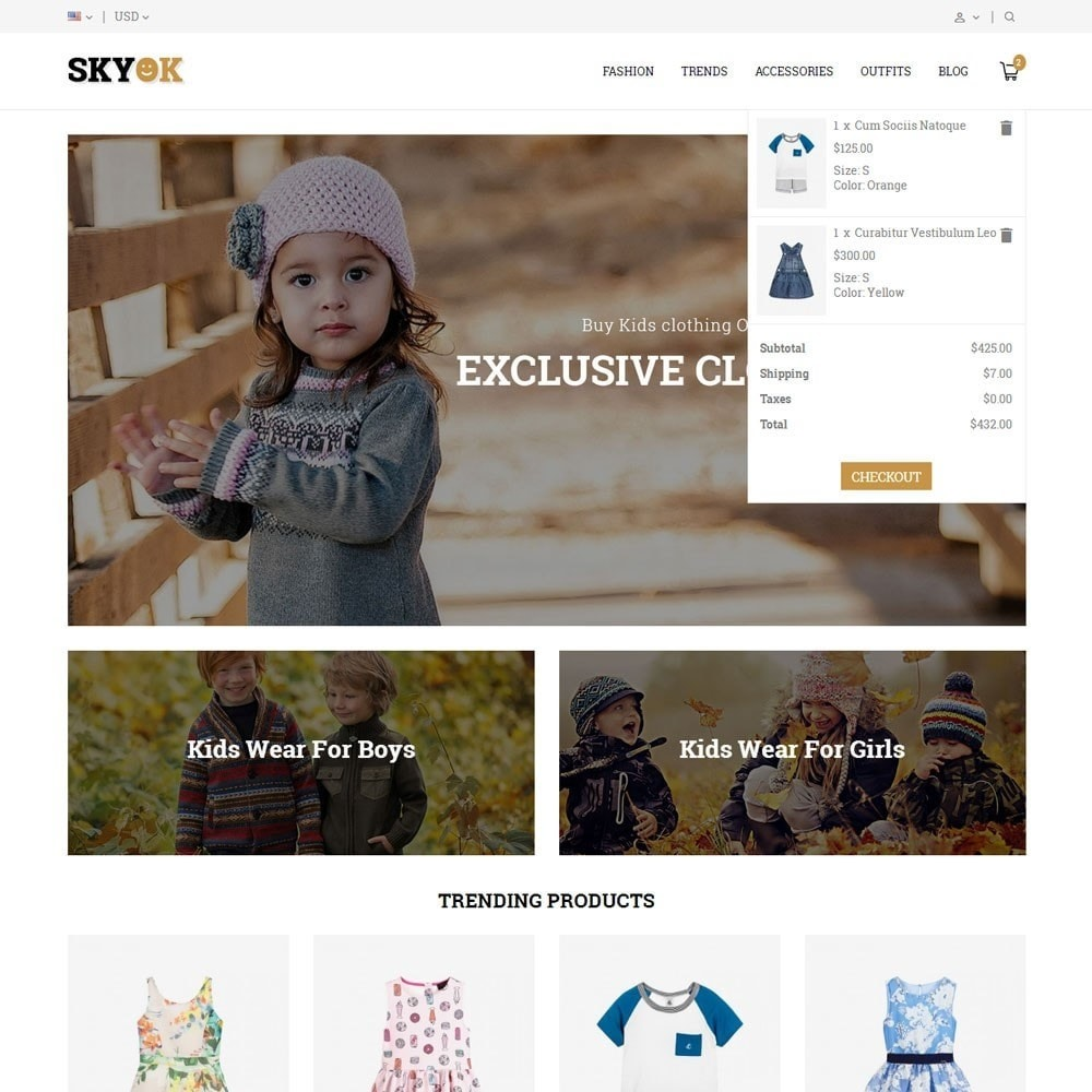 theme - Kids & Toys - Skyok Kids Store - 7