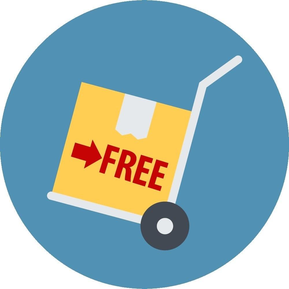 module - Gastos de transporte - Gestor de envío gratuito por Productos - 3