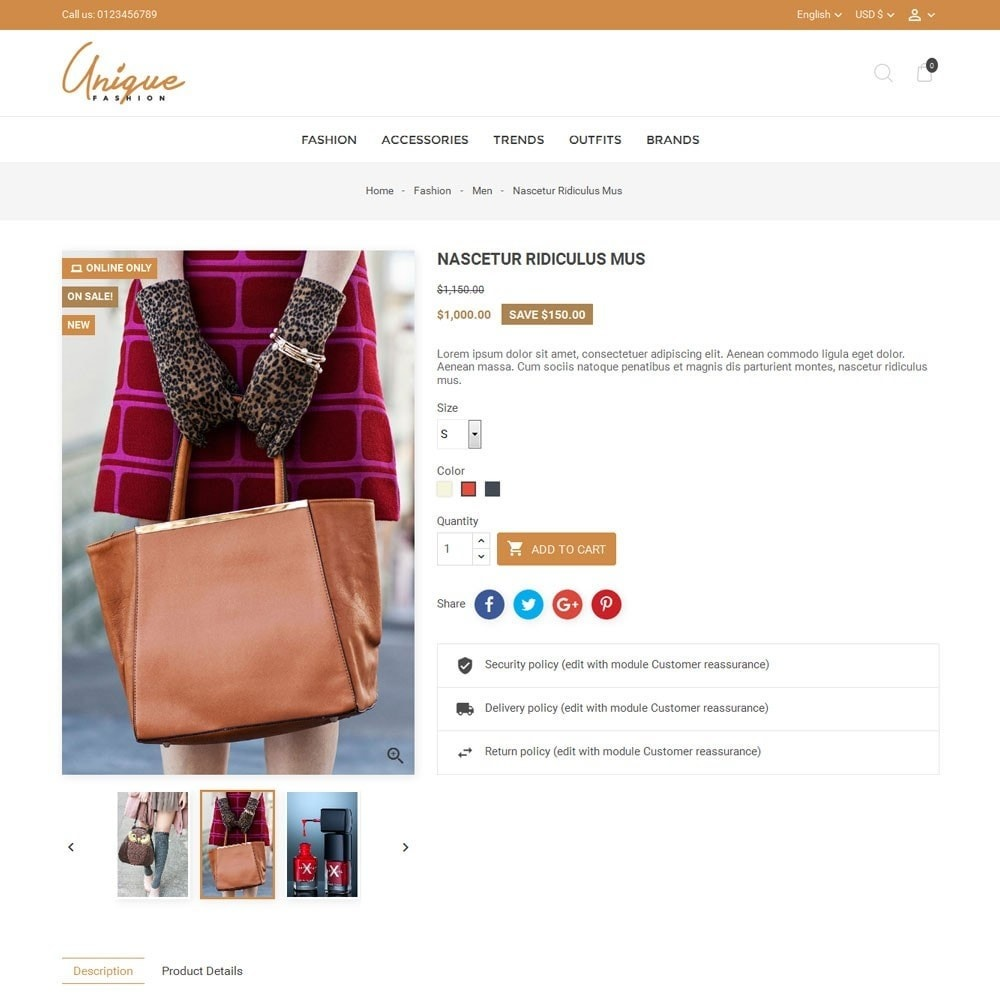 theme - Mode & Schoenen - Unique Fashion Store - 5