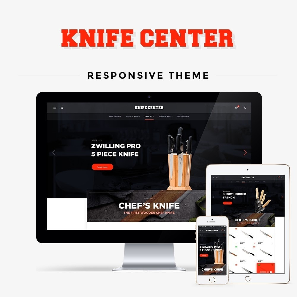 theme - Дом и сад - Knife Center - 1