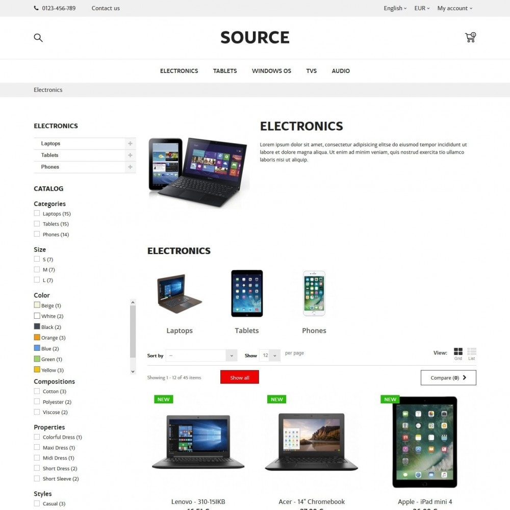 theme - Eletrônicos & High Tech - Source - High-tech Shop - 5
