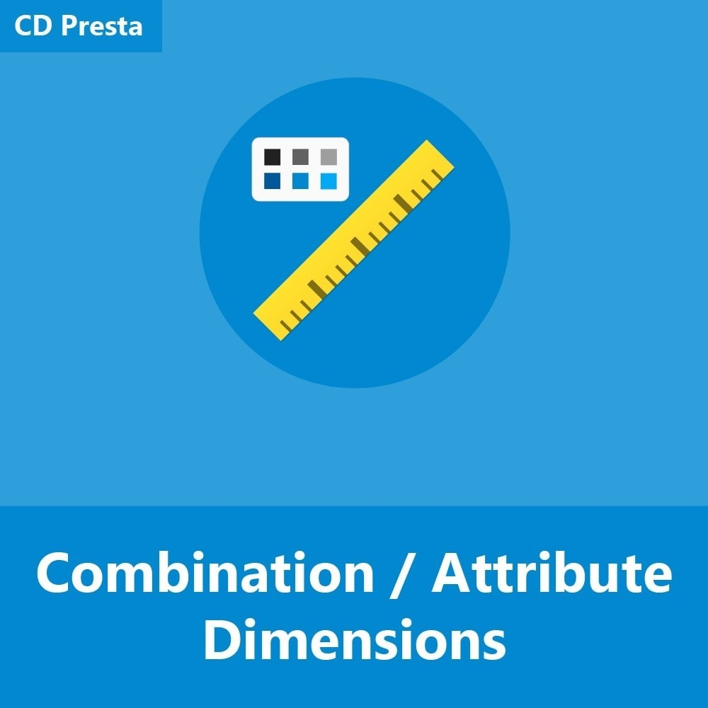 module - Rozmiary i jednostki - Product Combination / Attribute Dimensions - 1