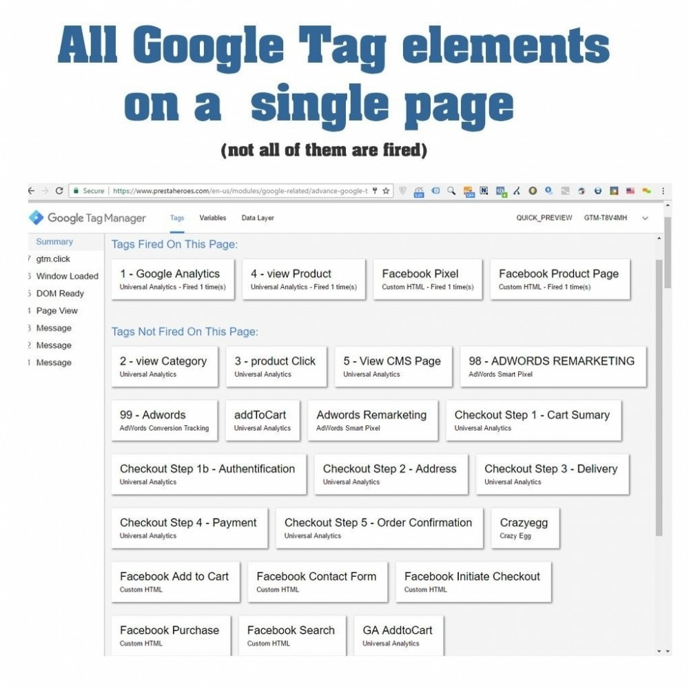 module - Analytics & Statistics - Advance Google Tag Manager - PRO - 23