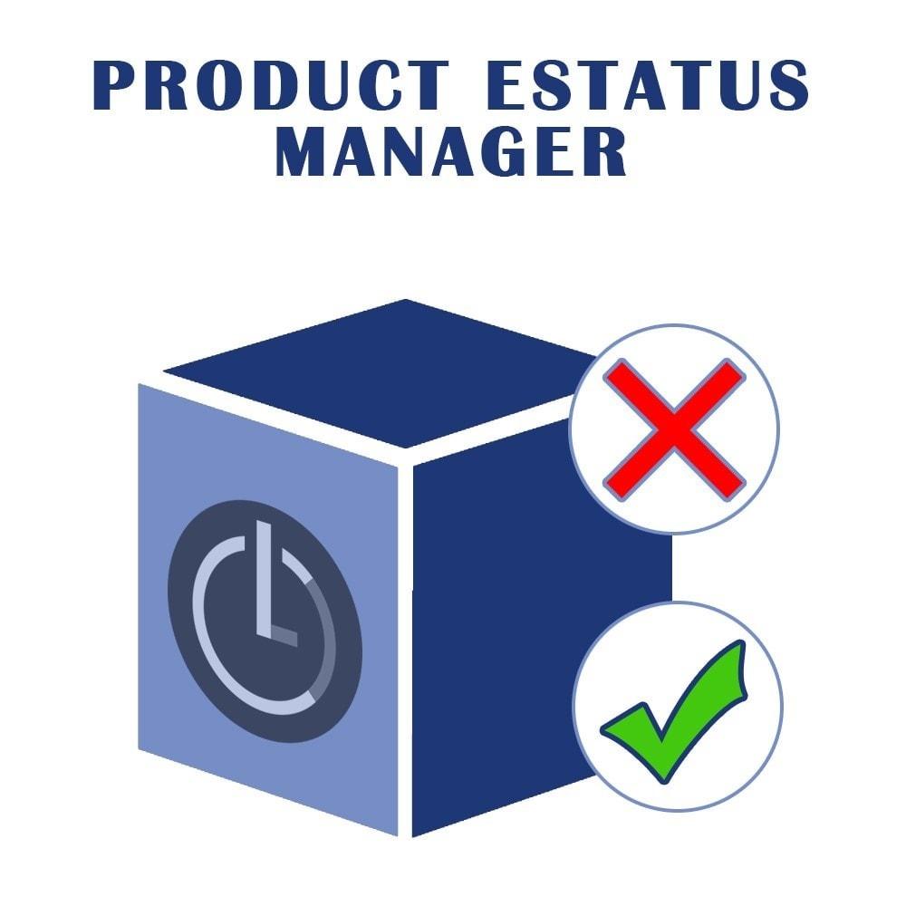 module - Quick Eingabe & Massendatenverwaltung - LC Product Status - 1