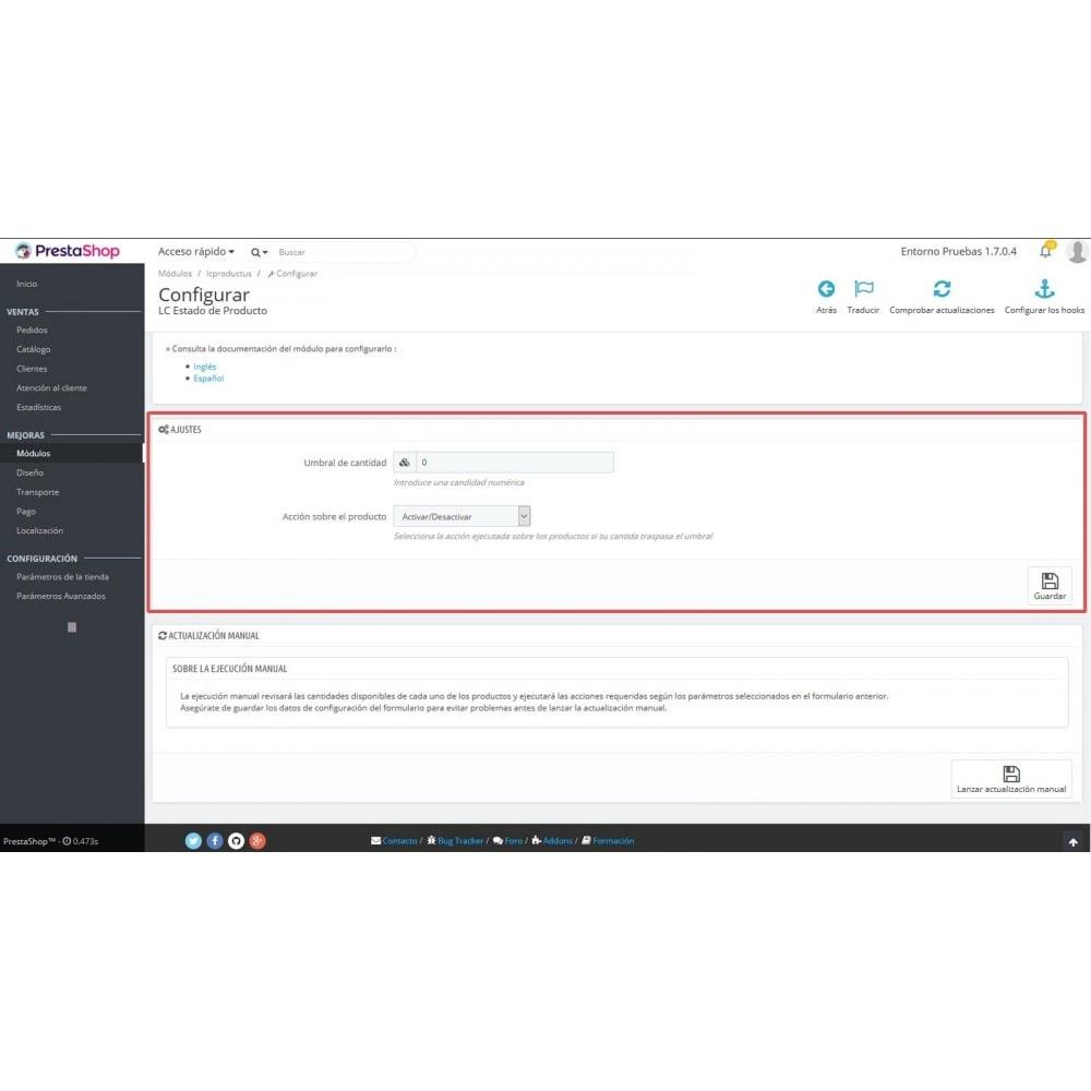 module - Szybkie & Masowe edytowanie - LC Product Status - 6