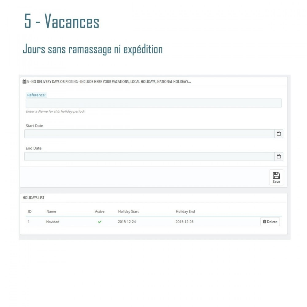 module - Date de livraison - Livraison Estimée V3 - Smart Modules - 7