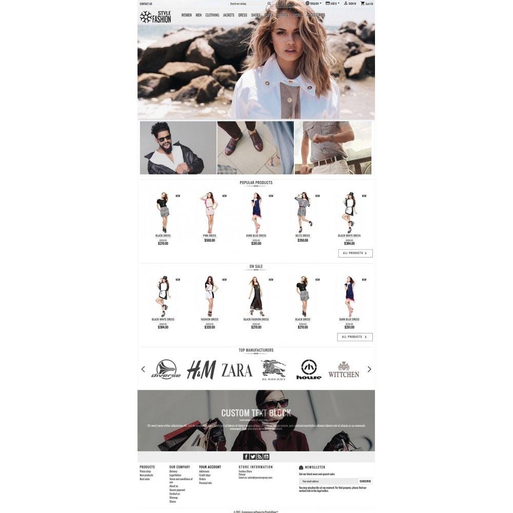 theme - Moda & Obuwie - Classic Style Fashion - 3