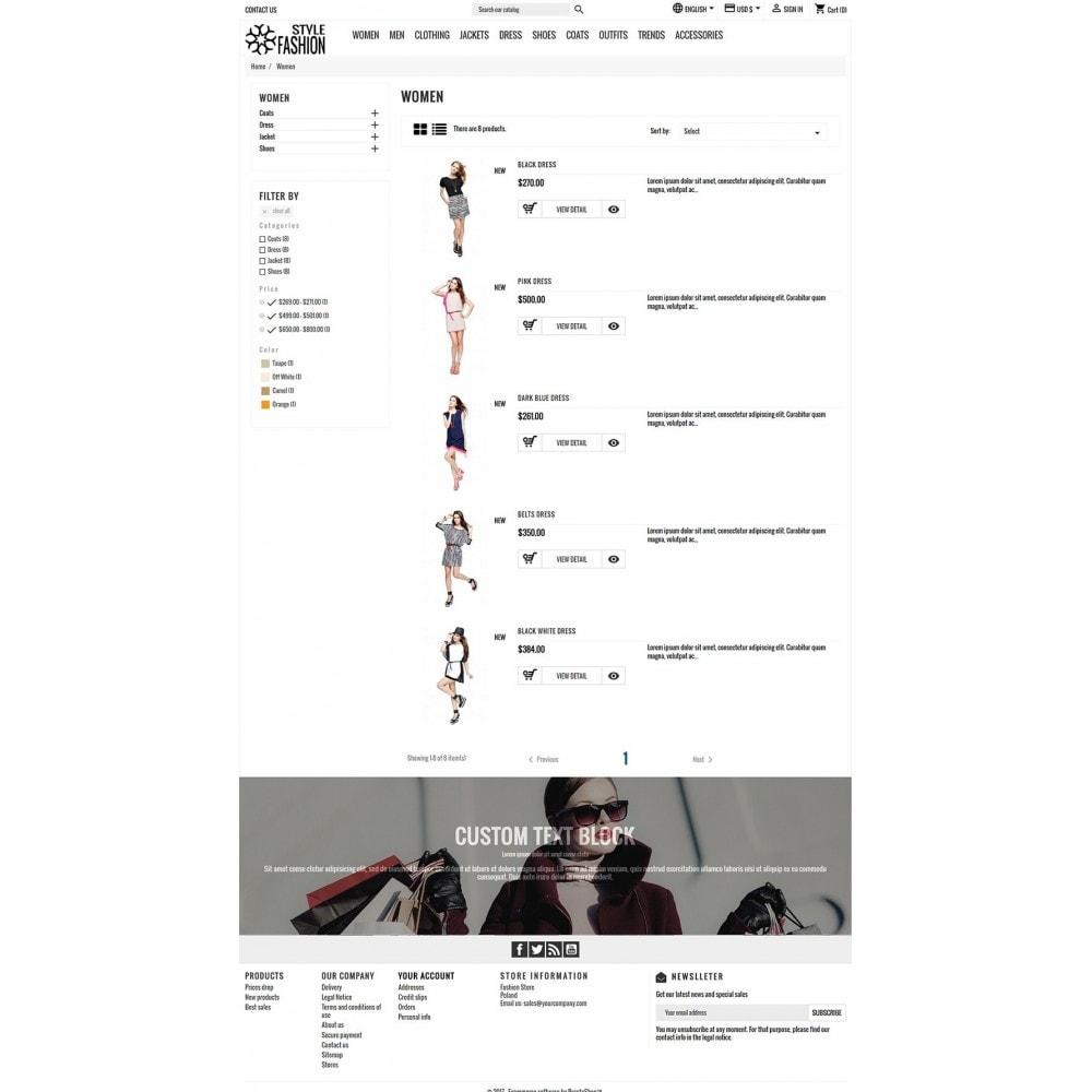 theme - Moda & Obuwie - Classic Style Fashion - 6