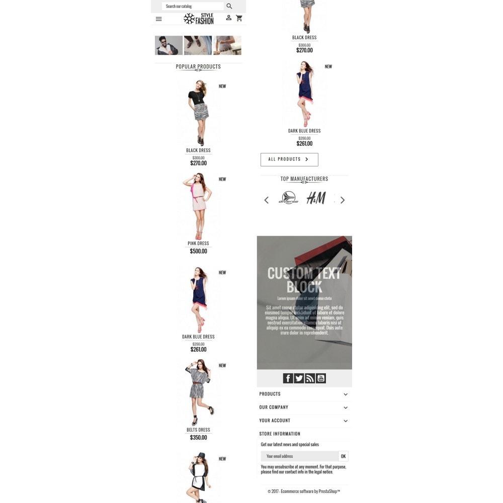 theme - Moda & Obuwie - Classic Style Fashion - 8