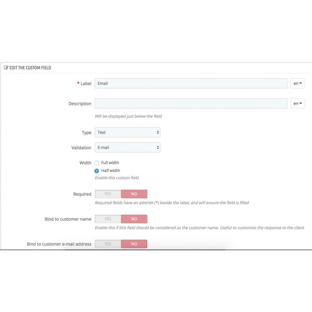 module - Formulaires de Contact & Sondages - ContactBox - formulaire de contact personnalisable - 12