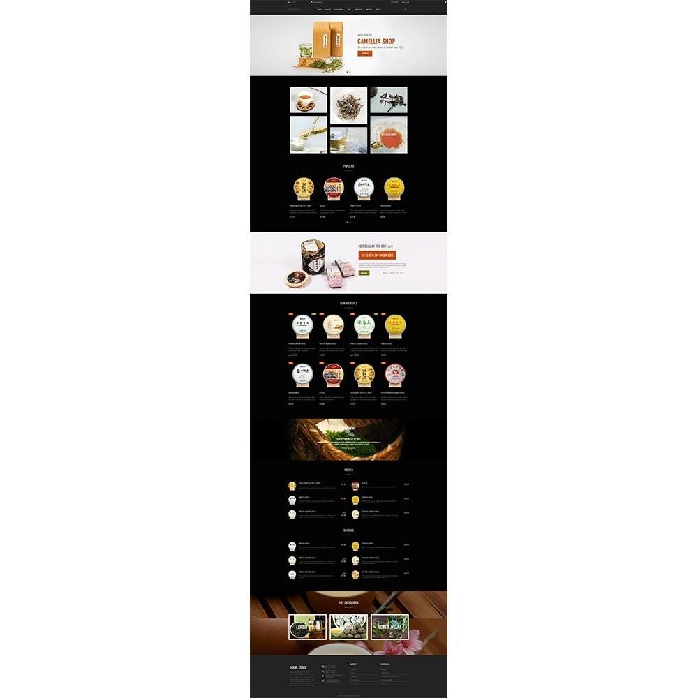 theme - Napoje & Wyroby tytoniowe - Camellia Tea Store - 3