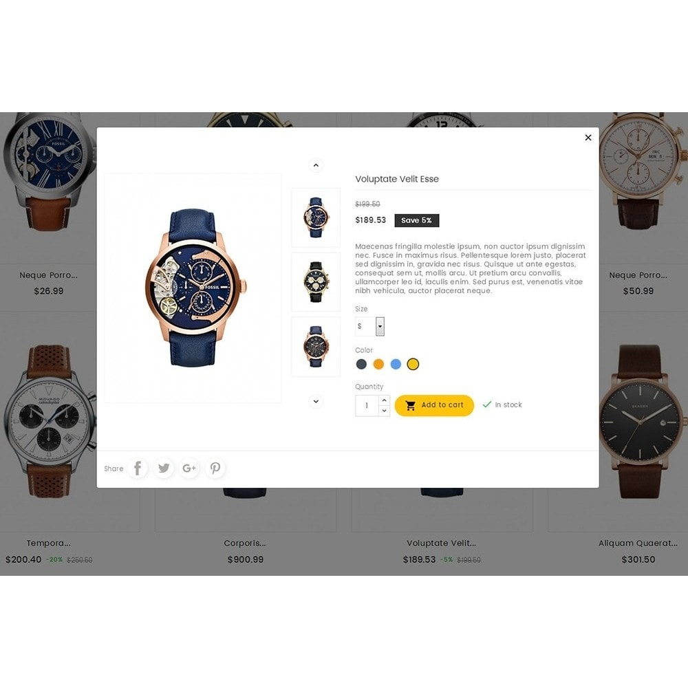 theme - Schmuck & Accesoires - Quartz Watch Store - 8
