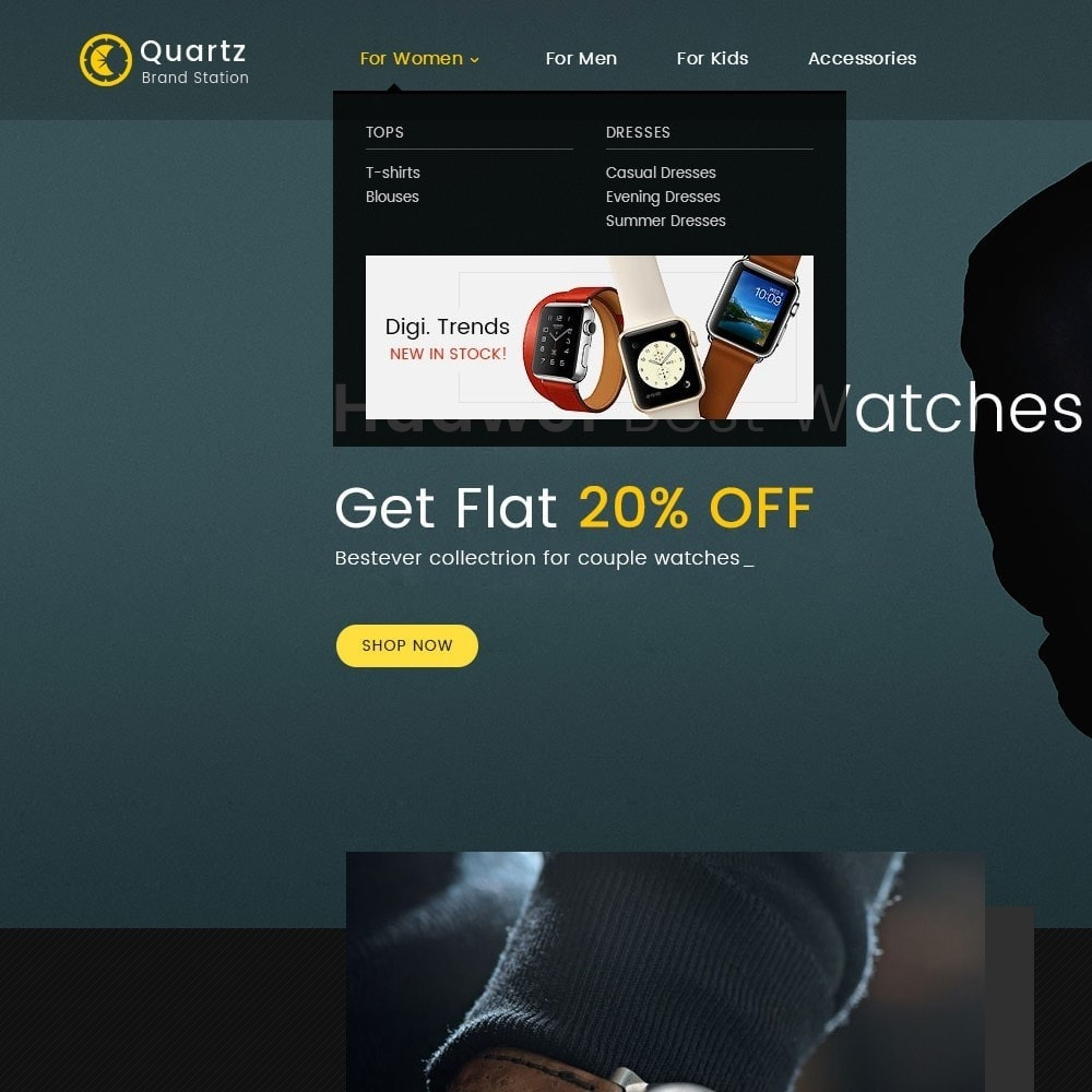 theme - Schmuck & Accesoires - Quartz Watch Store - 9