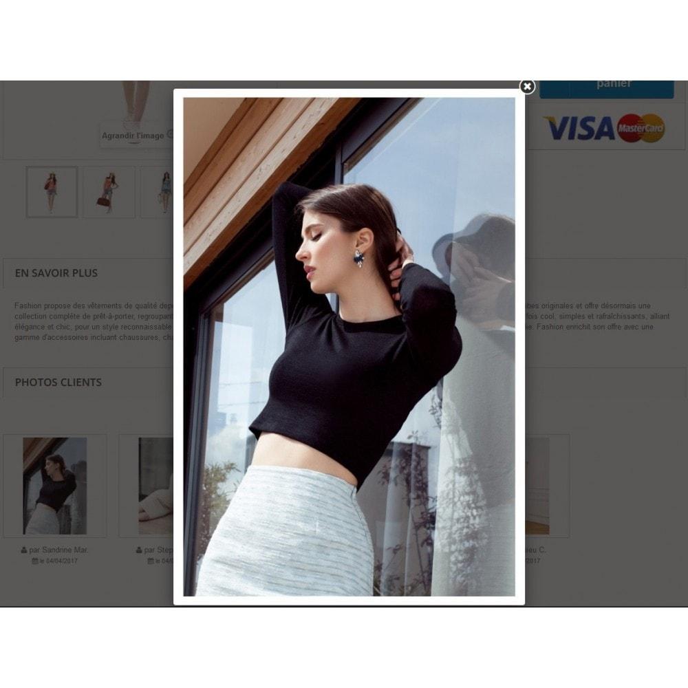 module - Visuels des produits - Photos Clients sur vos pages produit - 3
