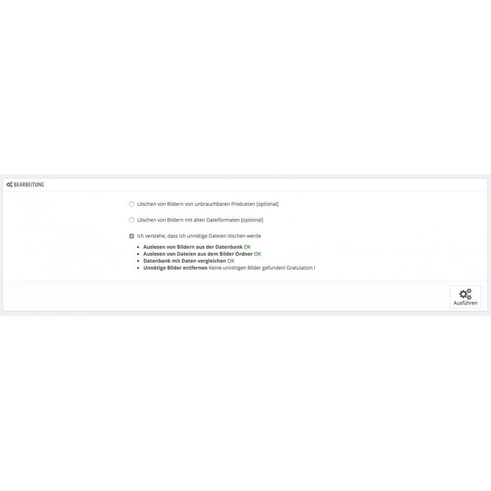 module - Performance - Löschen von unnötigen Produktbildern - 1