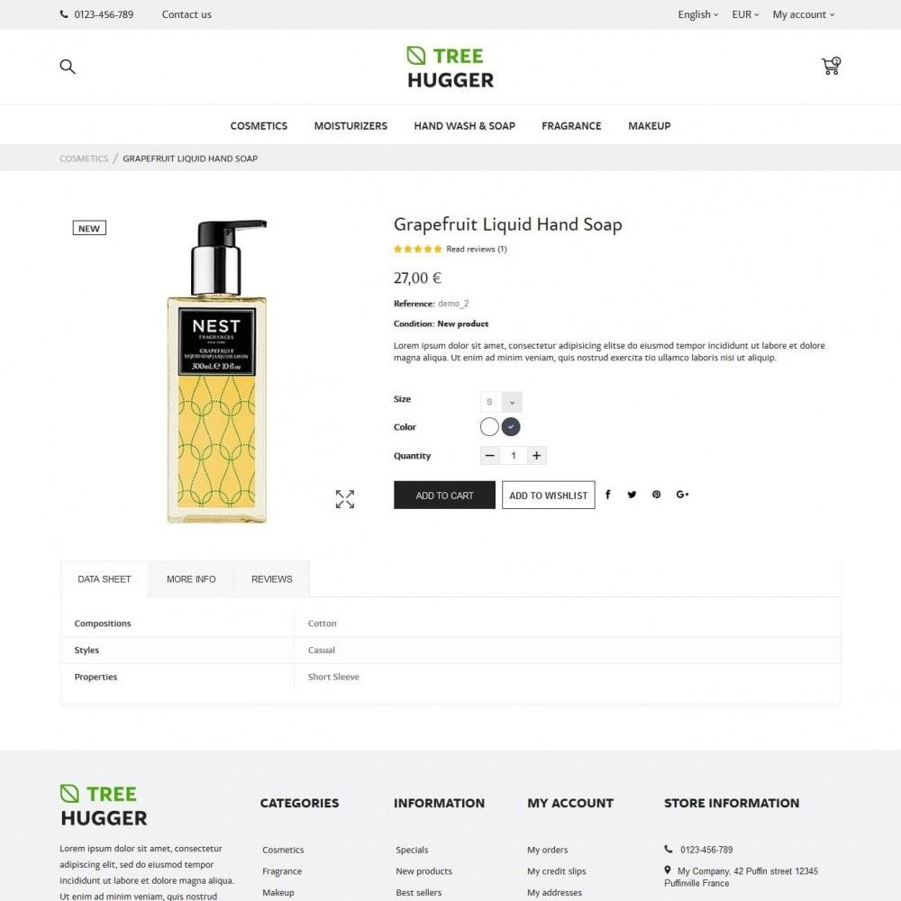 theme - Santé & Beauté - Tree Hugger Cosmetics - 6