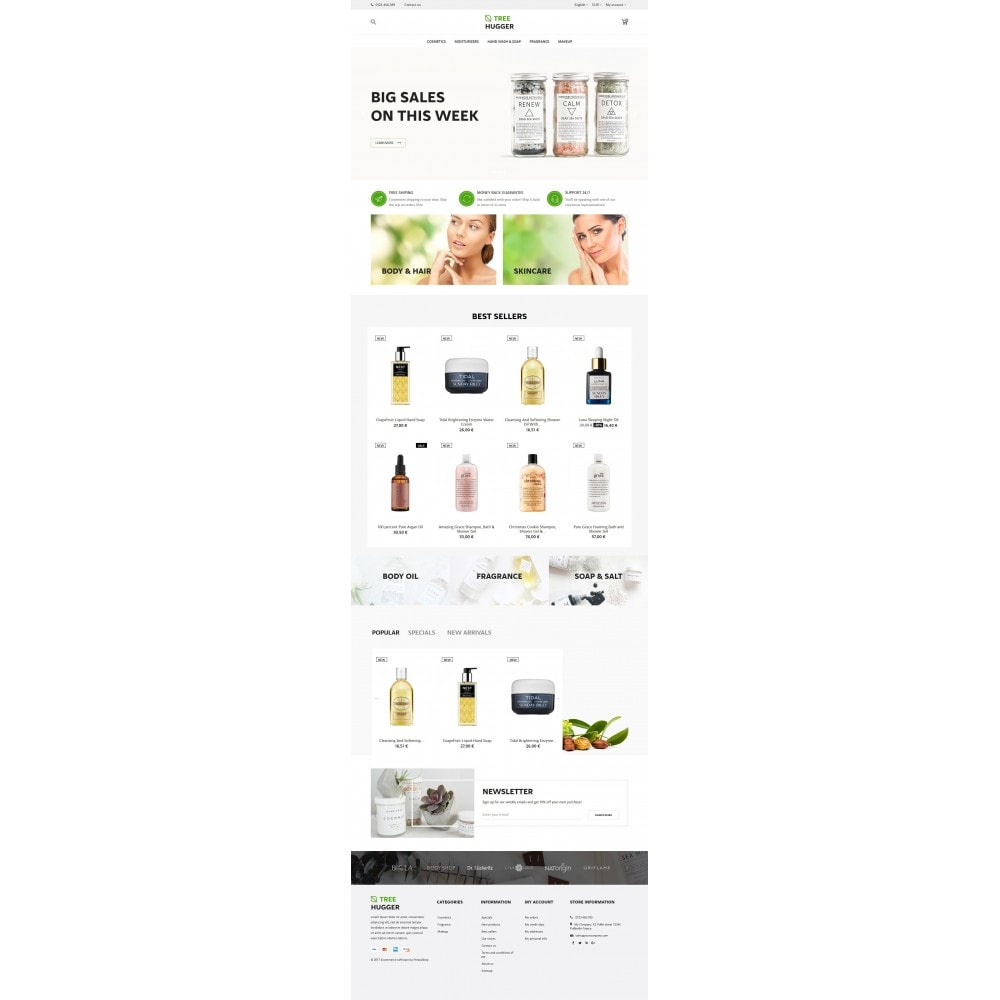 theme - Santé & Beauté - Tree Hugger Cosmetics - 9