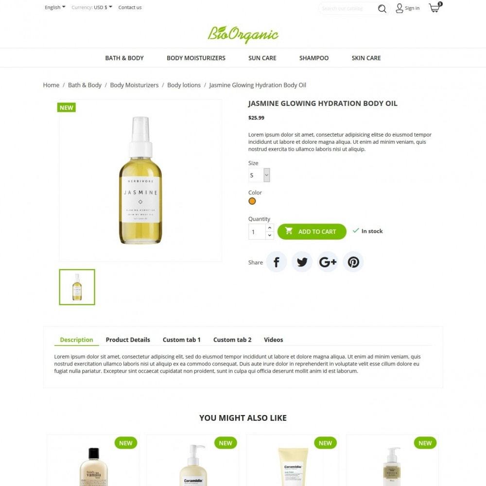 theme - Zdrowie & Uroda - BioOrganic - 5