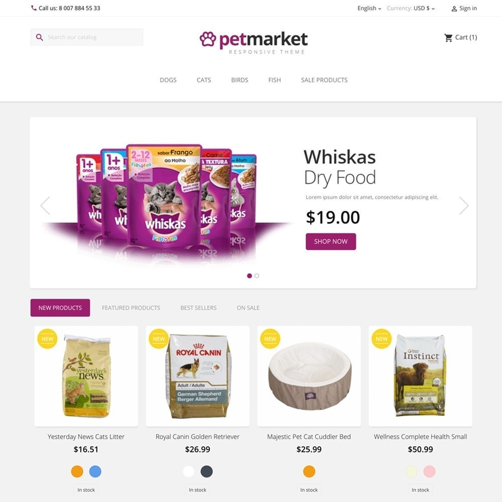 theme - Animals & Pets - PETMARKET - 2