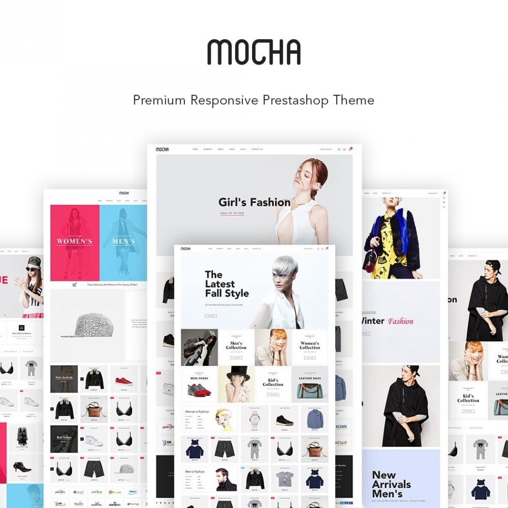 theme - Fashion & Shoes - JMS Mocha - 1