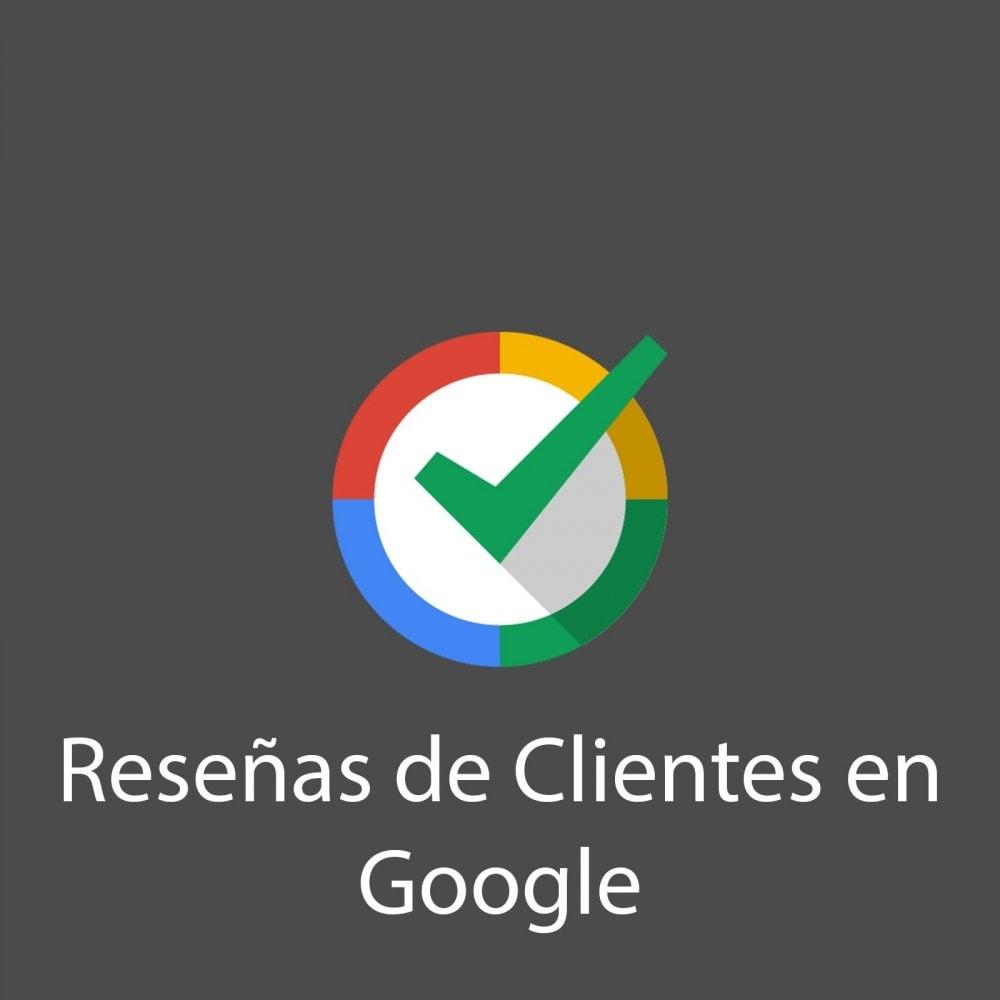 module - Comentarios de clientes - Reseñas de Clientes en Google - 1