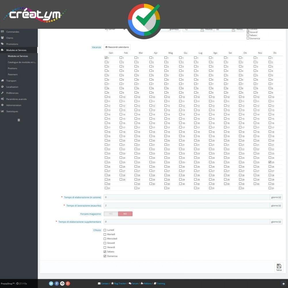 module - Recensioni clienti - Recensioni dei clienti su Google - 5