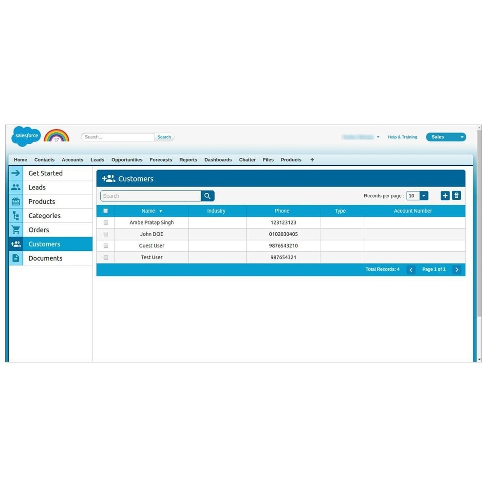 module - Third-party Data Integration (CRM, ERP...) - Salesforce Connector - 22