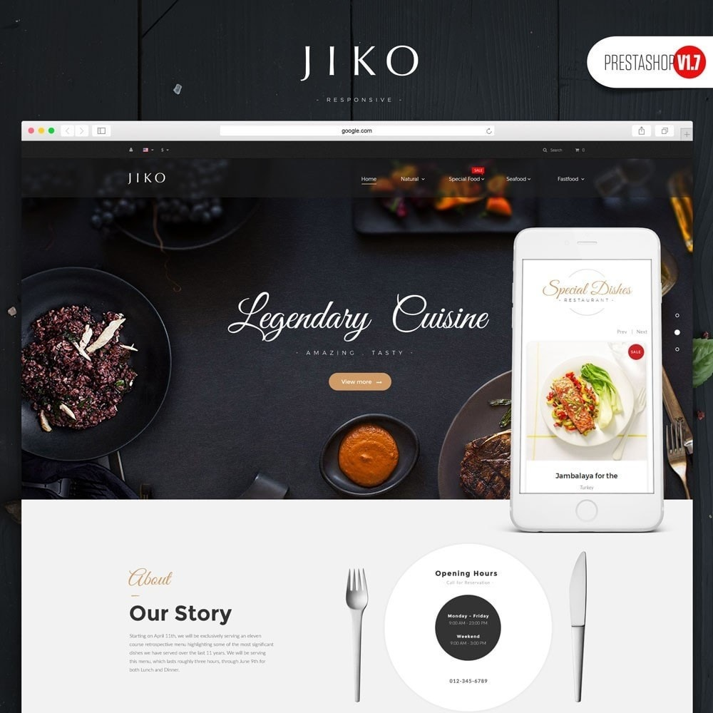 theme - Lebensmittel & Restaurants - JiKo Food & Drink - 1