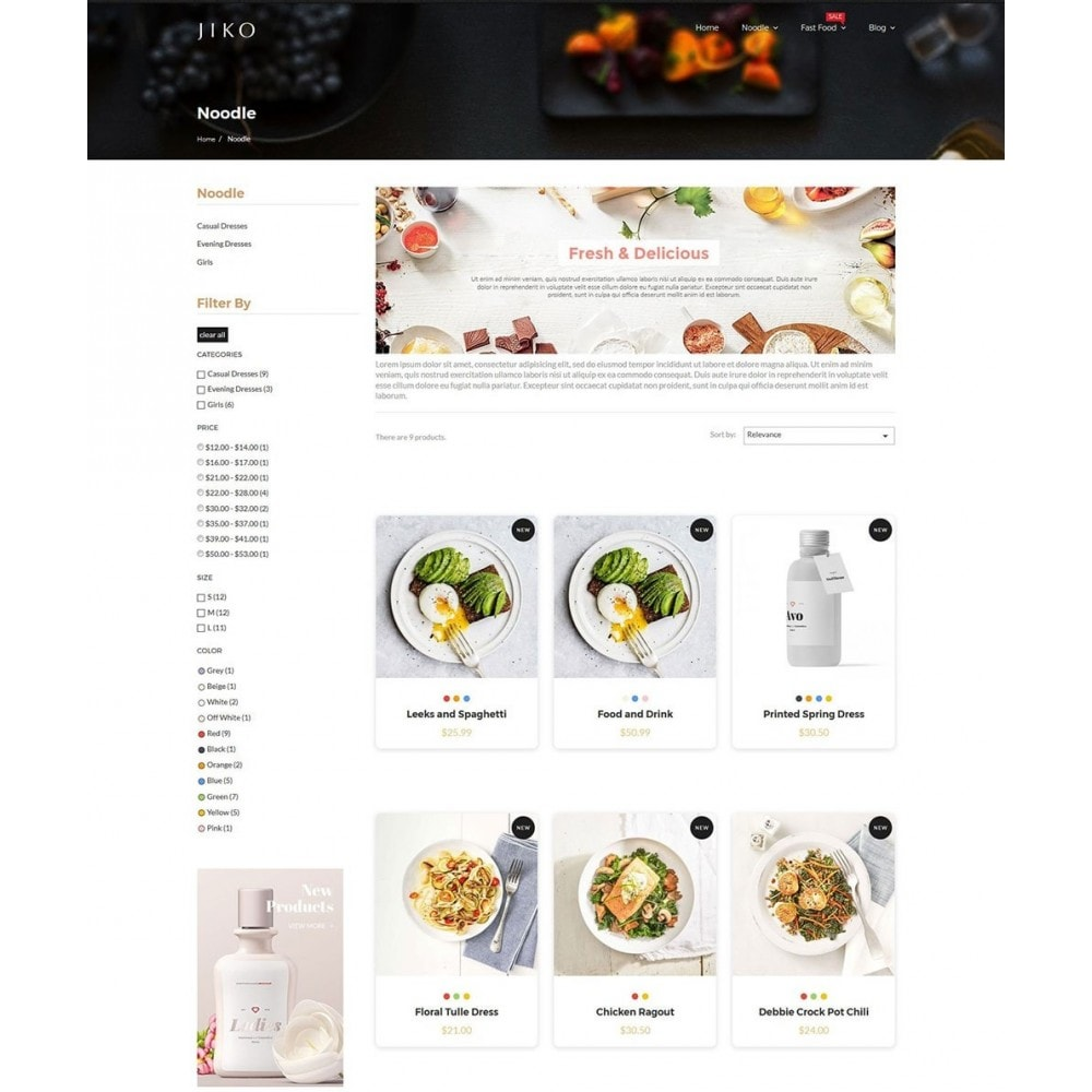 theme - Lebensmittel & Restaurants - JiKo Food & Drink - 6