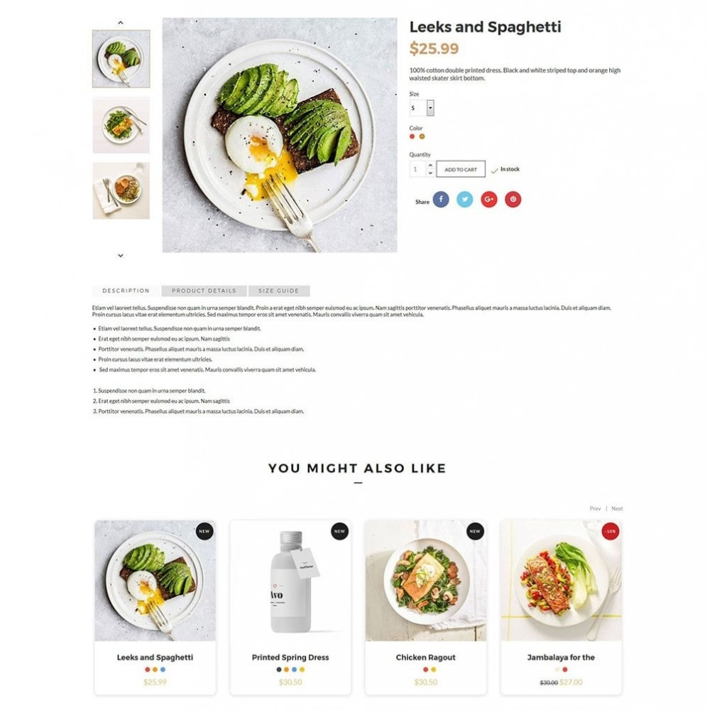 theme - Lebensmittel & Restaurants - JiKo Food & Drink - 7