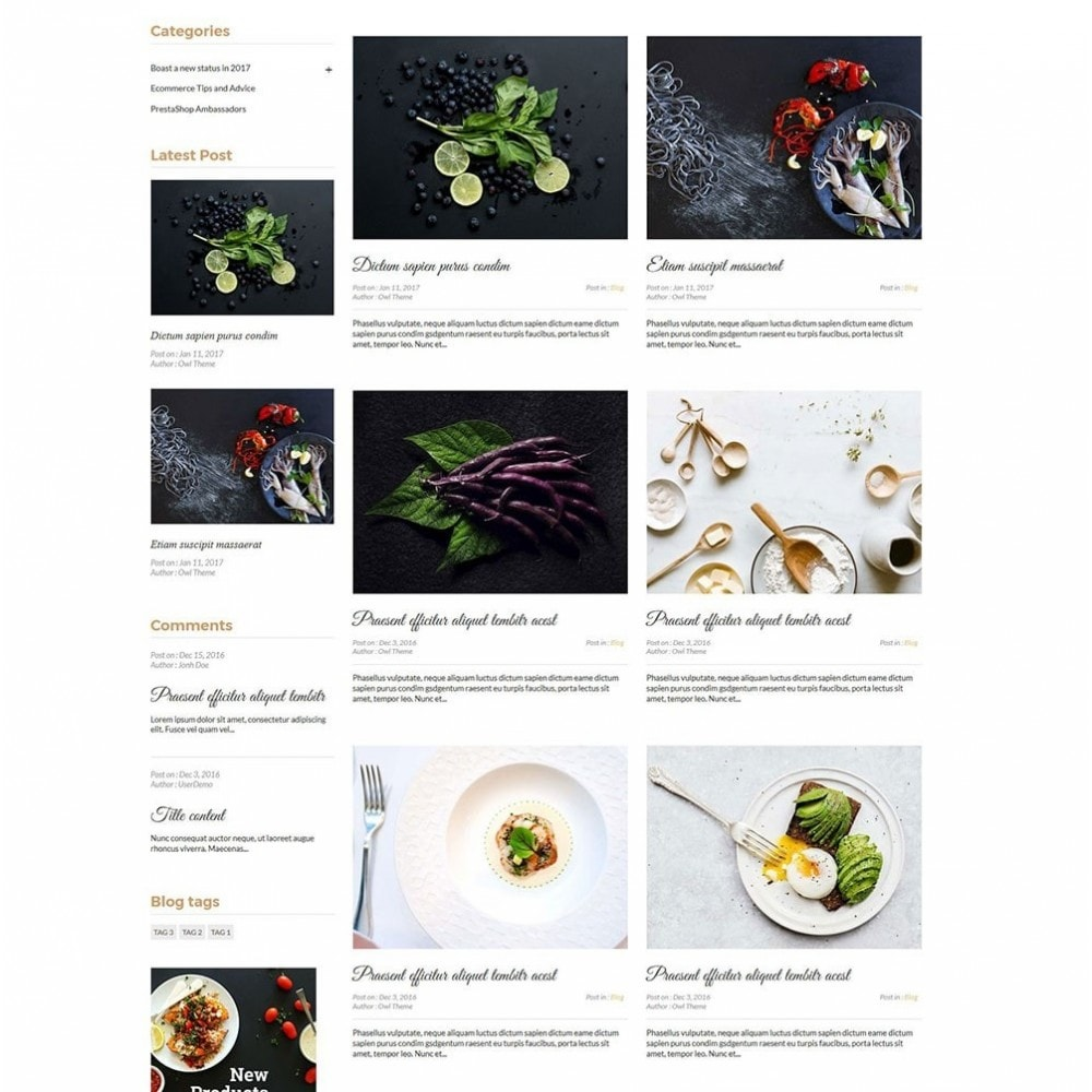 theme - Lebensmittel & Restaurants - JiKo Food & Drink - 8