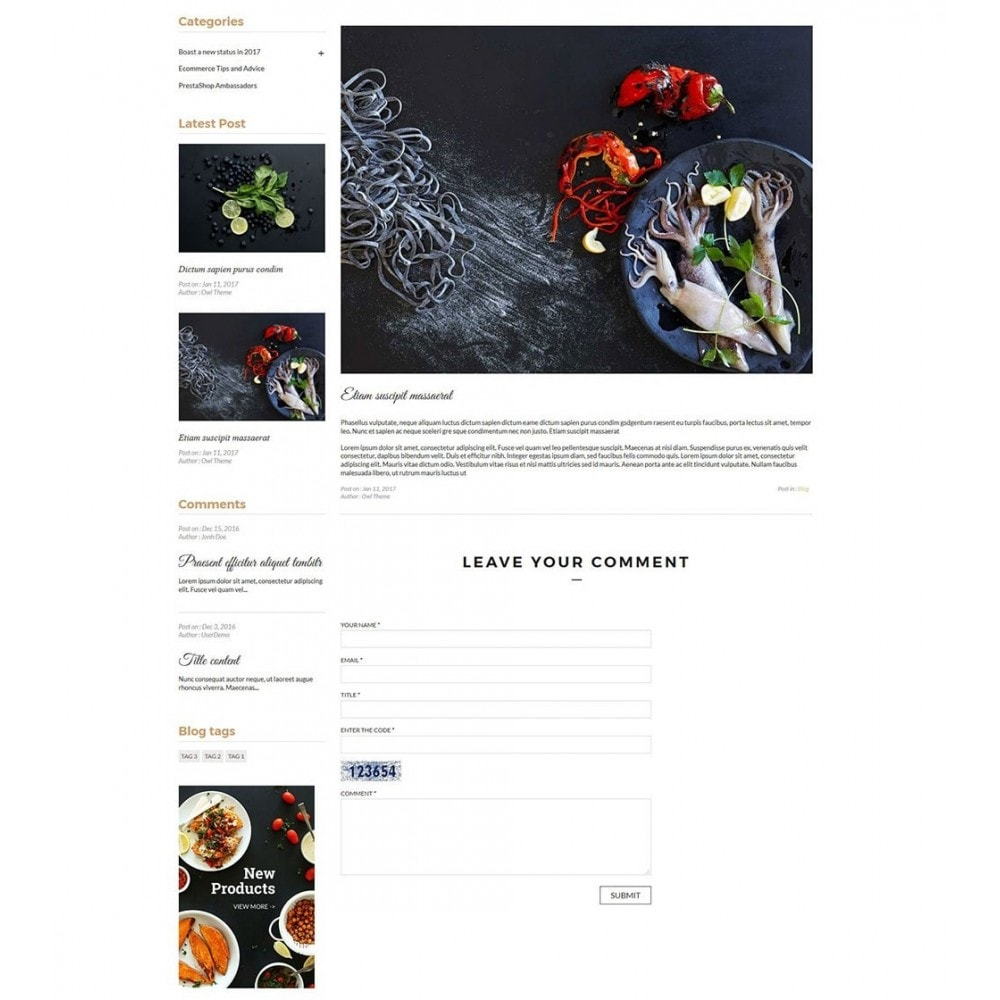 theme - Alimentation & Restauration - JiKo Food & Drink - 9